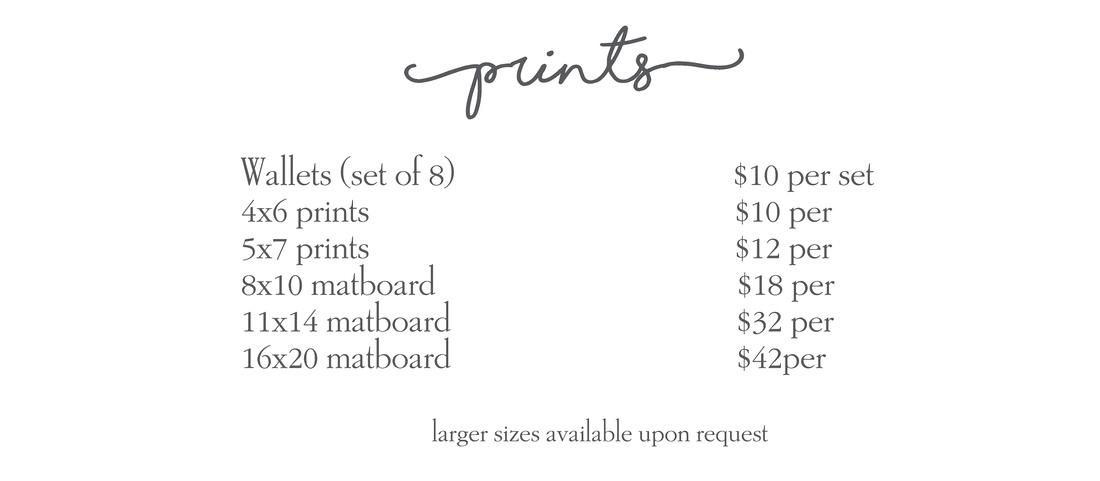 prints price